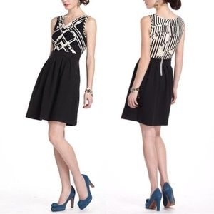Anthropologie Postmark Voksoper Geometric Dress